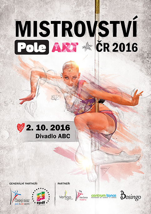 MČR v Pole Art 2016 poster